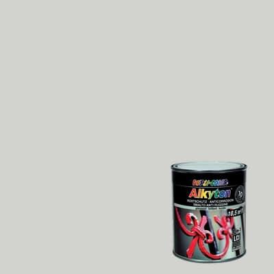 Smalto per ferro antiruggine Alkyton grigio chiaro RAL 7035 brillante 0,75 L