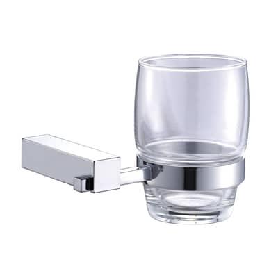 Porta bicchiere Reia Cromo lucido