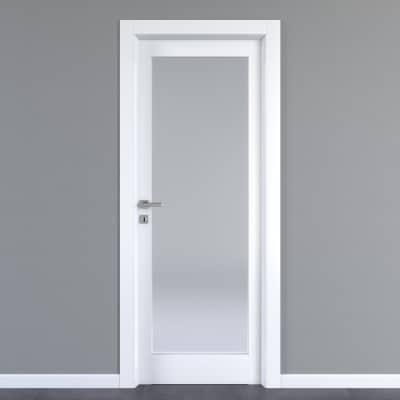 Porta da interno battente Avior bianco 70 x H 210 cm dx