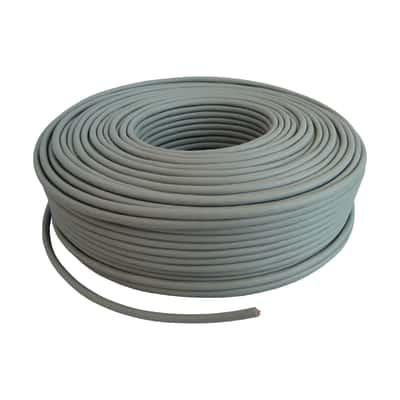 Cavo FTP Lexman 0,56 mm grigio, matassa 50 m