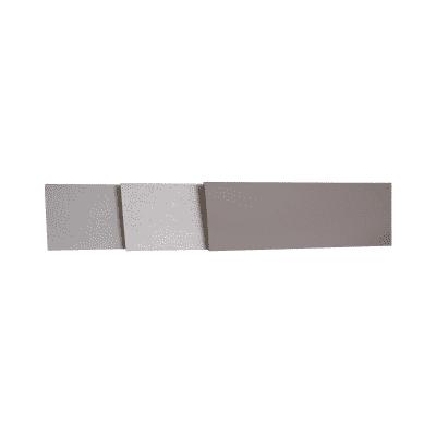 Alzatina su misura Porfido laminato sabbia H 10 cm