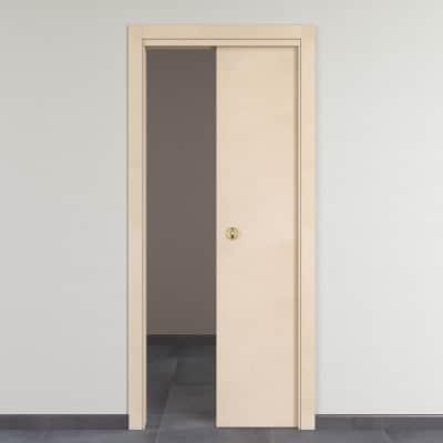 Porta da interno scorrevole Saint Germain grezza 60 x H 210 cm ...