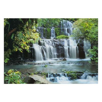 Fotomurale Pura Kanui falls multicolor 368 x 254 cm