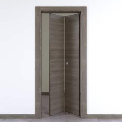 Porta da interno pieghevole Starwood pietra 80 x H 210 cm dx