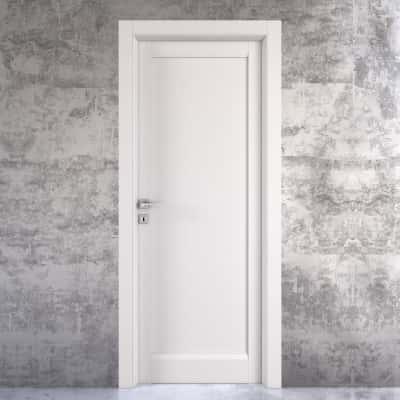 Porta da interno battente Aludra bianco 60 x H 210 cm dx