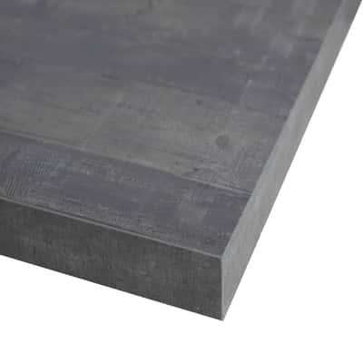 Piano cucina su misura laminato Kaos grigio 6 cm