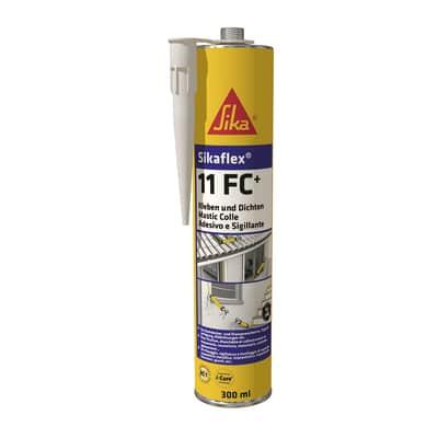 Sigillante poliuretanico Sikaflex 11 FC+ marrone Sika 300 ml, per cemento, vetri, metallo
