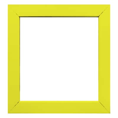 Cornice Easy giallo 14 x 14 cm
