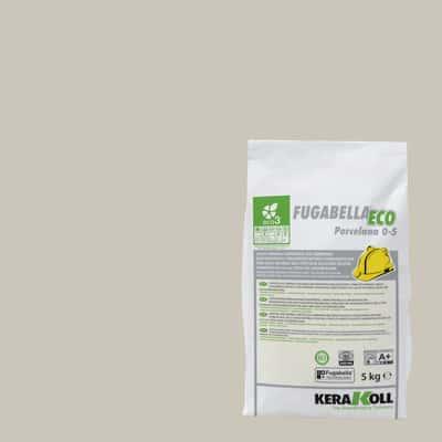 Stucco per fughe in polvere Kerakoll Fugabella grigio chiaro 5 kg