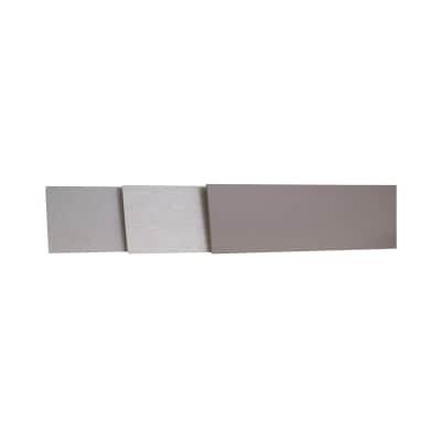 Alzatina su misura Calais laminato grigio H 10 cm