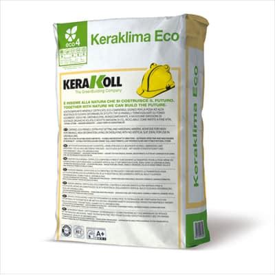 Collante rasante cappotto Keraklima Eco Kerakoll 25 kg