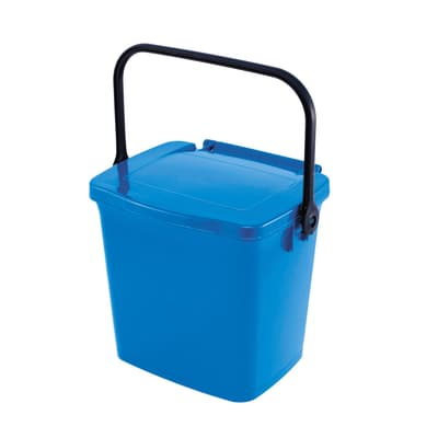 Pattumiera Max 5 L azzurro