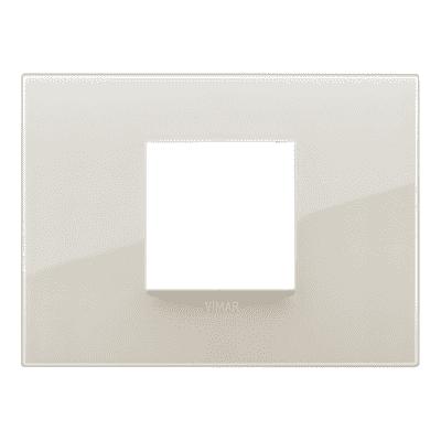 Placca 2 moduli Vimar Arké reflex avorio