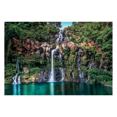 Fotomurale Cascade multicolor 368 x 248 cm