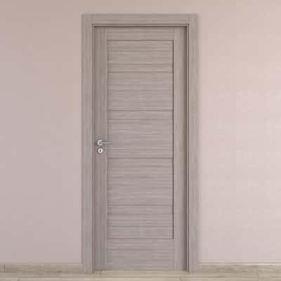 Porta da interno battente Capena 1 sabbia 60 x H 210 cm dx