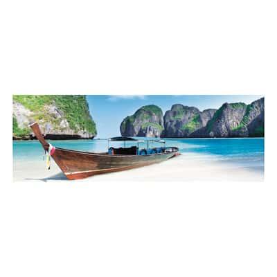 quadro su tela Paradise beach 33x95