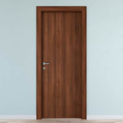 Porta da interno battente Noyer 70 x H 210 cm reversibile