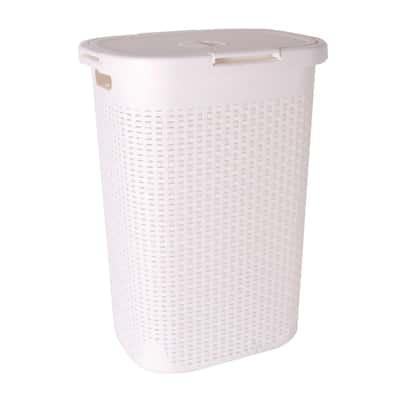 Portabiancheria cottage bianco 40 l prezzi e offerte online leroy merlin - Sensea accessori bagno ...