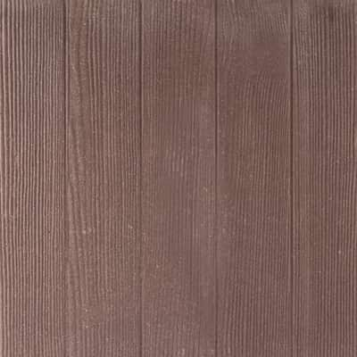 Piastrella 50 x 50 cm Legno Marrone, spessore 4 cm