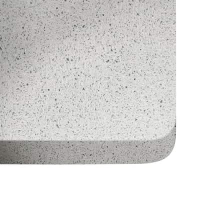 Piano cucina su misura quarzo Blanco stellar 3 cm