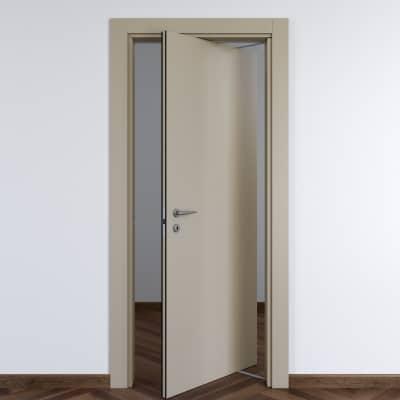 Porta da interno rototraslante Cinder grigio 80 x H 210 cm dx