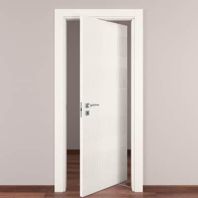 Porta da interno rototraslante Fence bianco 70 x H 210 cm dx
