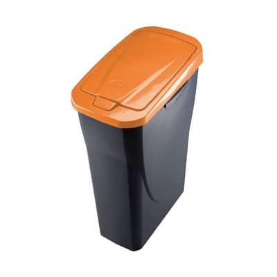 Pattumiera Ecobin 25 L arancione
