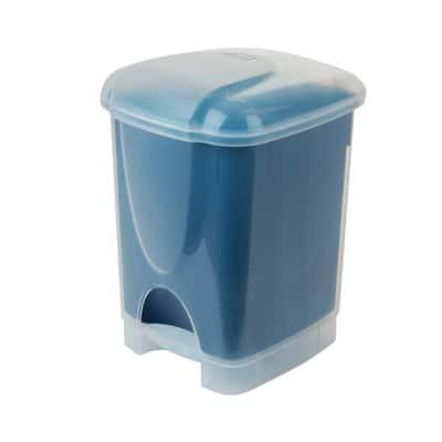 Pattumiera Binny Dualface 6 L blu