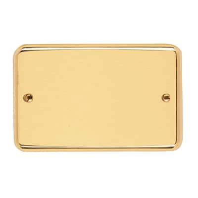 Placca 3 moduli CAL serie 8000 satinato/lucido