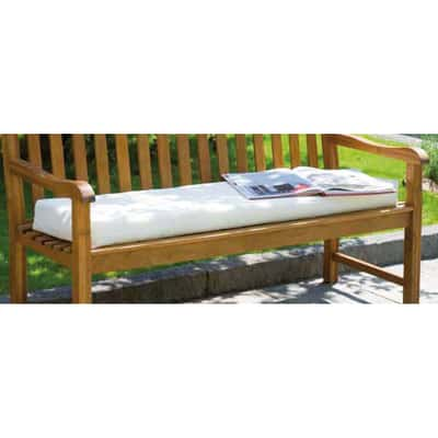 Cuscino seduta ecru 61 x 143 cm