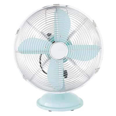 Ventilatore da tavolo Equation Mini Cooma azzurro