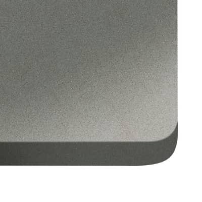 Alzatina su misura Expo quarzo grigio H 6 cm