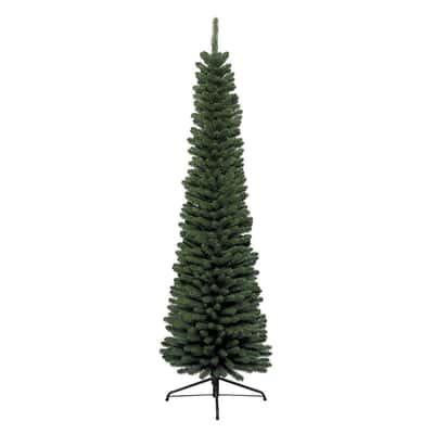 Albero di Natale artificiale Slim H 150 cm