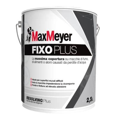Idropittura antimacchia bianca Max Meyer Fixoplus 2,5 L