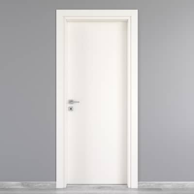 Porta da interno battente Moma bianco 60 x H 210 cm dx