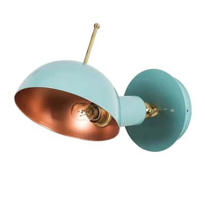 Applique App-boule azzurro Ø 15 cm
