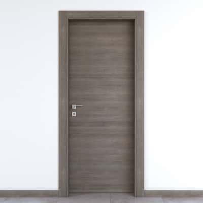 Porta da interno battente Starwood pietra 90 x H 210 cm reversibile