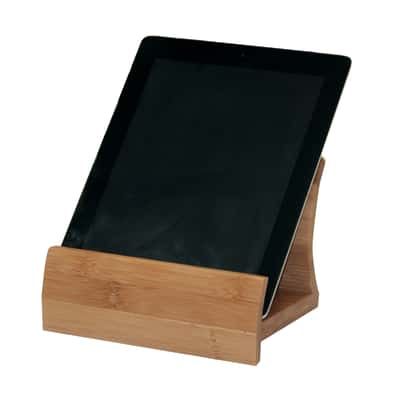 Supporto per tablet/ricettario naturale L 12,5 x P 13 x H 18 cm