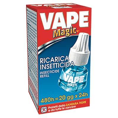 Refill liquido Magic antizanzara 480 ore Vape 36 ml