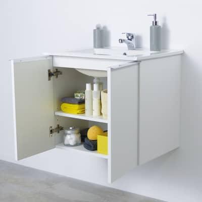 Mobile bagno Essential bianco L 60 cm prezzi e offerte online ...