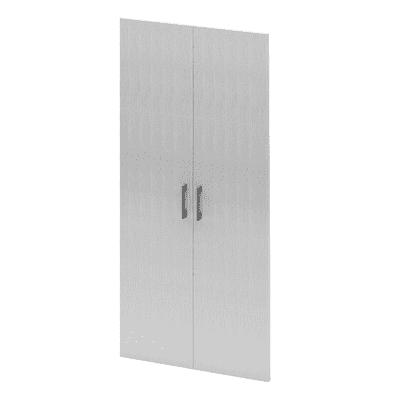 Set 2 ante Spaceo bianco L 30 x P 1,8 x H 128 cm