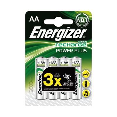 Pila ricaricabile al nichel metal idrato stilo AA Energizer Recharge