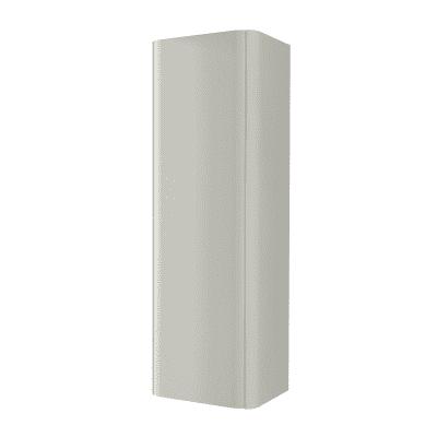 Colonna Liverpool grigio 1 anta L 43 x H 130 x P 35 cm
