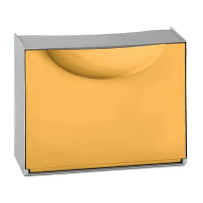 Scarpiera Harmony Box 1 anta a ribalta giallo