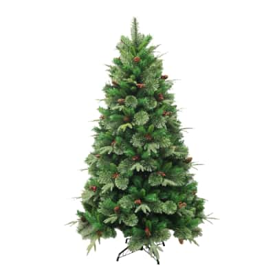 Albero di Natale artificiale Cortina H 210 cm