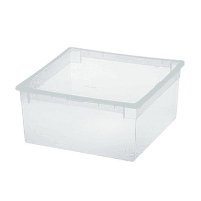 Scatola Light Box L L 37,8 x P 39,6 x H 18,5 cm trasparente