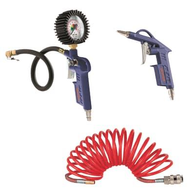 Kit accessori per aria compressa
