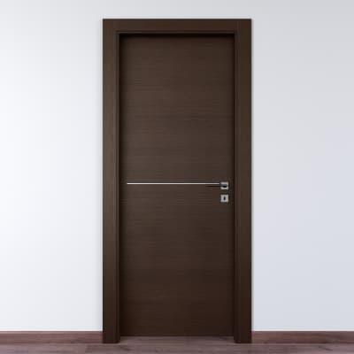 Porta da interno battente Wright wenix 90 x H 210 cm sx