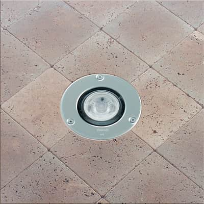Faretto incasso per esterno a pavimento microfloor led for Lampioni giardino disano