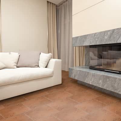 Piastrella Abbazie Terracotta 33x50 33 x 50 cm marrone